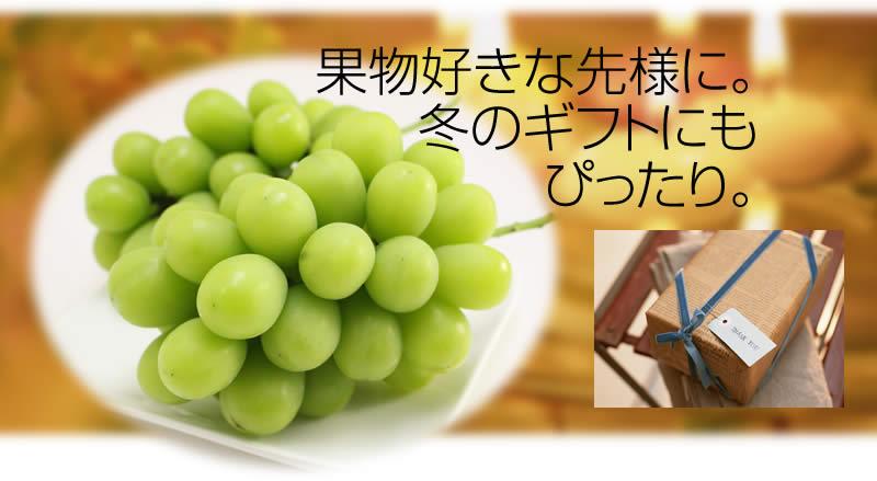 果物好きな先様に。 冬のギフトにも ぴったり。